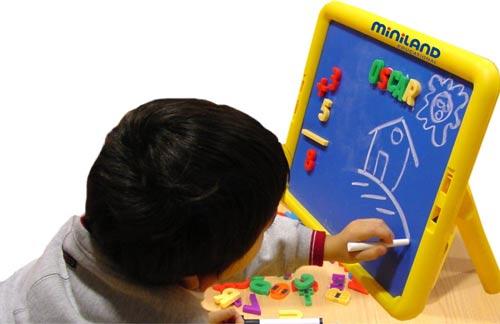 Super Board metálica con dos cara detalle 1