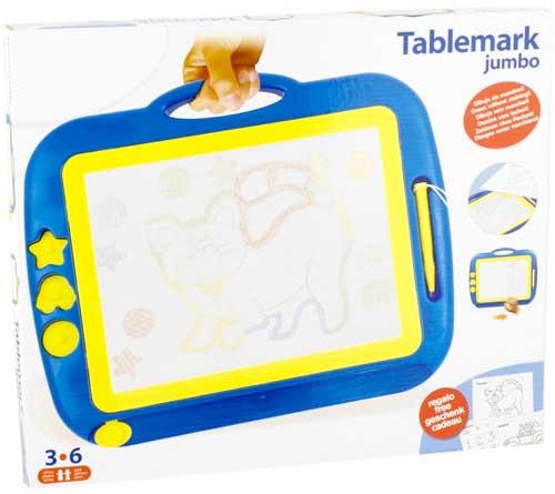 Tablemark Jumbo detalle de la caja