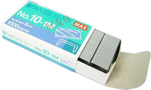 Grapas 10 mm MAX cajita 1000 ud