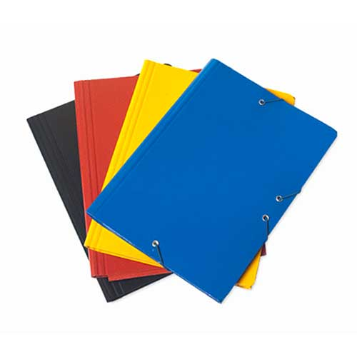 Carpeta solapas Cuarto cartón color brillo detalle 3