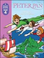 PRIMARY READERS PETER PAN   LIB.+CD