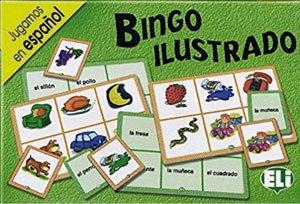 Bingo ilustrado de lenguaje