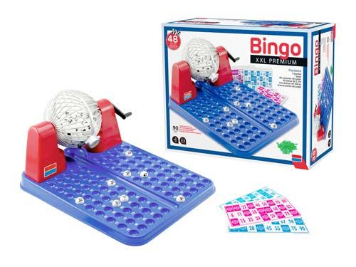 Bingo XXL premium 90 bolas - 48 cartones