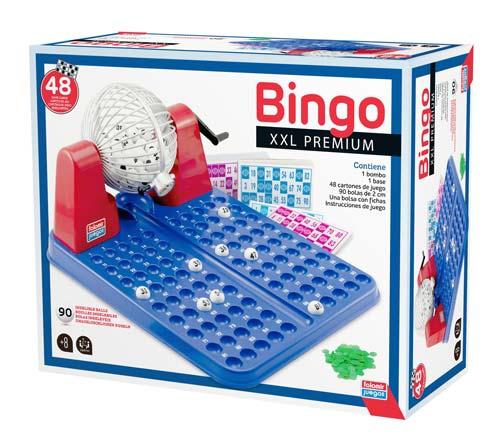 Bingo XXL premium 90 bolas - 48 cartones detalle 1