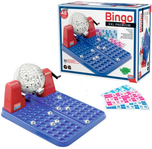 Bingo XXL premium 90 bolas - 48 cartones detalle 3