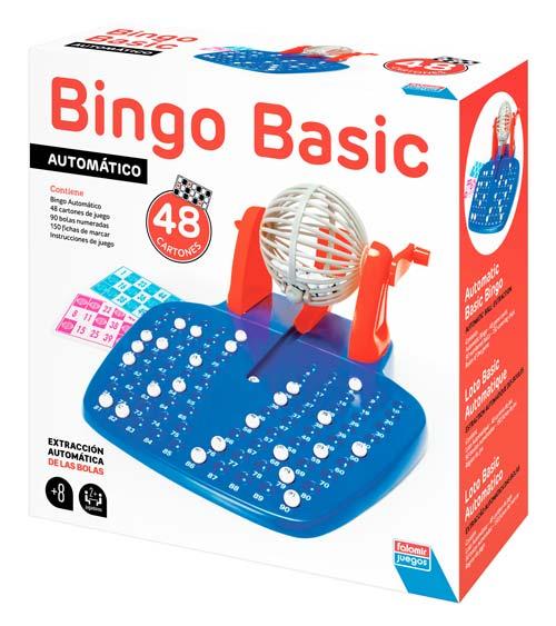 Bingo automático 90 bolas - 48 cartones detalle 1