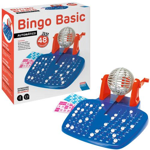 Bingo automático 90 bolas - 48 cartones