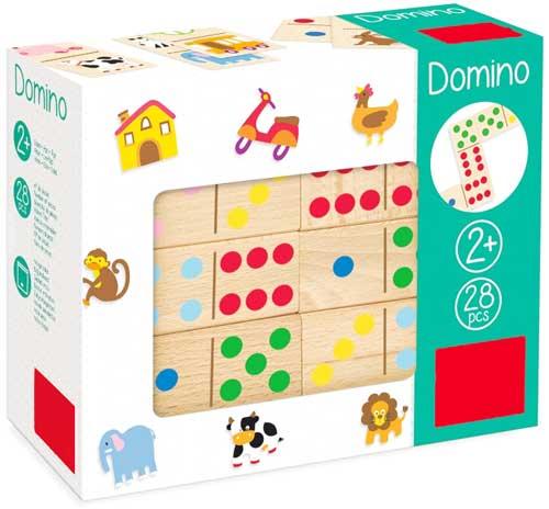 Dominó Topycolor detalle de la caja