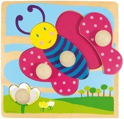 Encajable-puzzle Mariposa