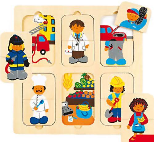 Puzzle profesiones