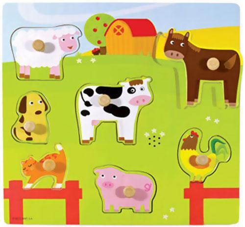 Encajable con sonido animales granja