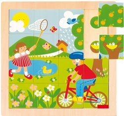 Puzzle primavera