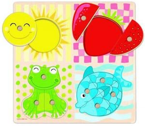 Encajable-puzzle 4 colores