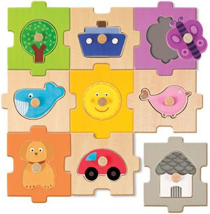 Puzzle intercambiable