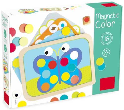 Magnetic Color detalle de la caja