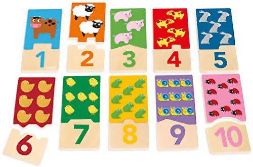Puzzle 20 pz Duo Números 1-10