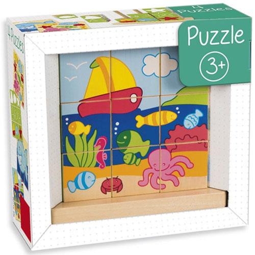 Puzzle cubos mar detalle 2