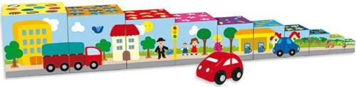 Cubos apilables coche (11 pz) detalle 2