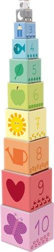 Cubos apilables 1-10 (10 pz) detalle 1