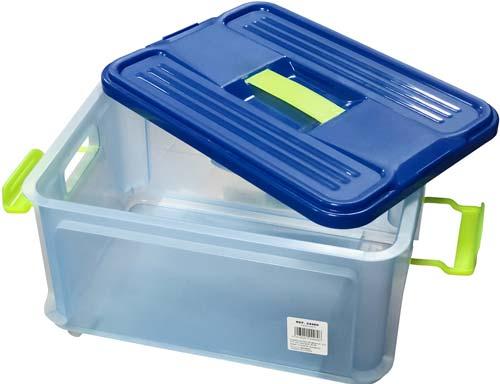 Caja multiusos Clack con tapa 9 litros