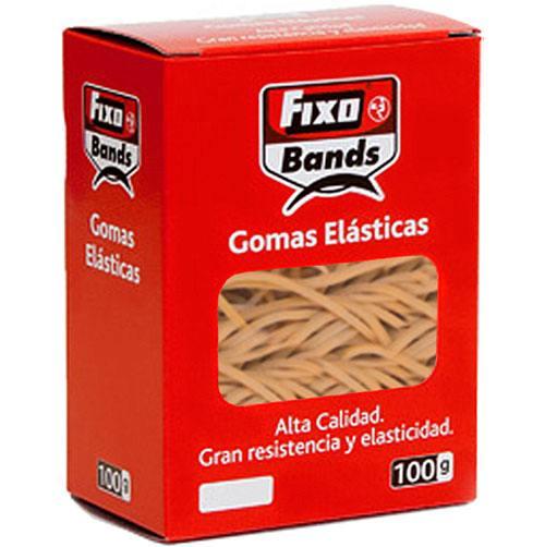 Gomas elásticas 10 cm caja 100 gr