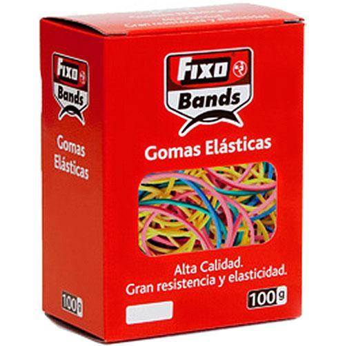 Gomas elásticas surtidas color 100 gr