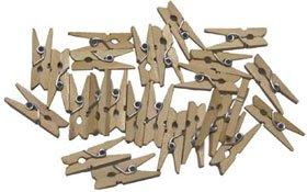Pinzas de madera pequeñas