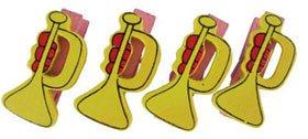 Pinzas de madera trompetas