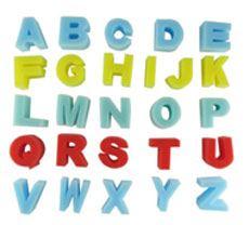 Esponjas abecedario