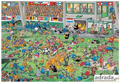 Puzzle campeonato de fútbol