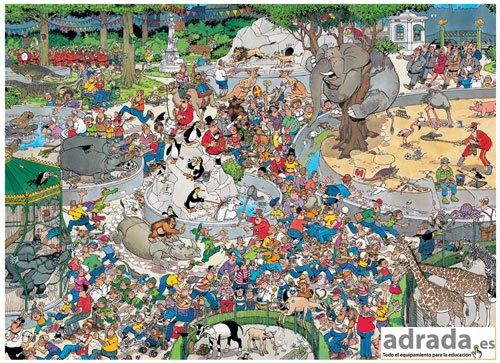 Puzzle el zoo