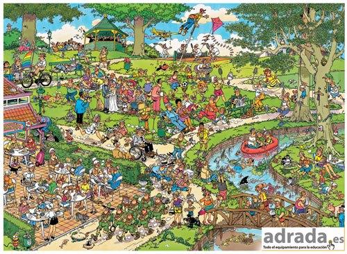 Puzzle El parque