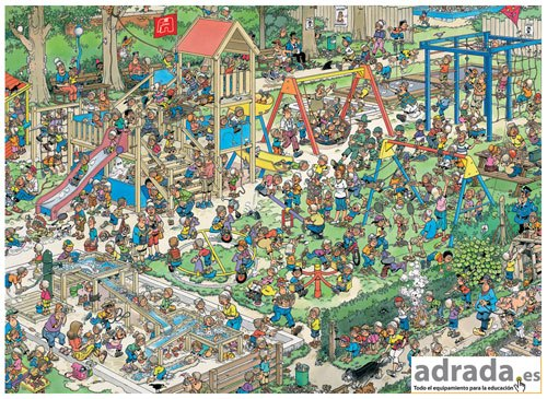 Puzzle El recreo