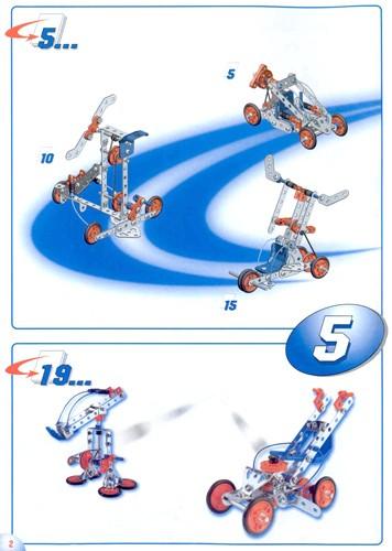 Mecano Motion System 5 Modelos detalle 1