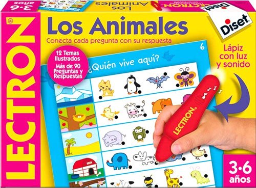 Lectrón Lápiz. los animales