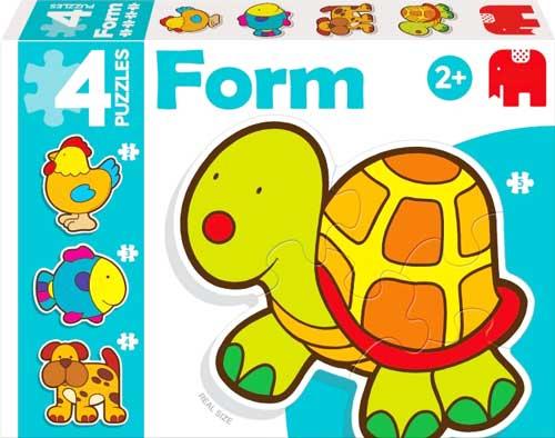 Puzzles Form Tortuga detalle de la caja