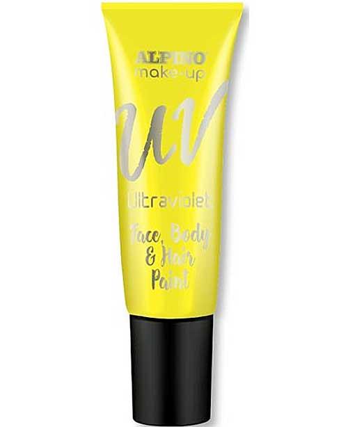 Maquillaje ultravioleta 10 ml amarillo