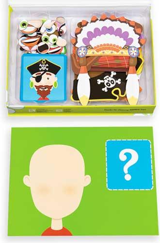 Caras magnéticas detalle 4