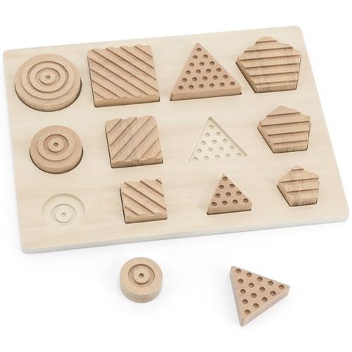 Encajable sensorial Formas Geométricas