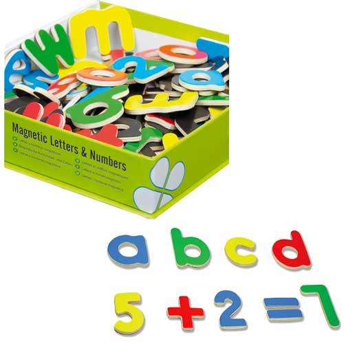 Letras y números magnéticos detalle 4