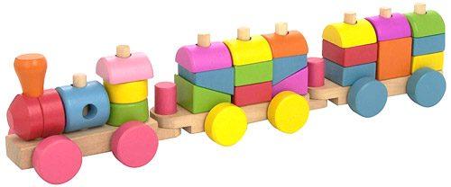 Tren madera 3P (26 pz)