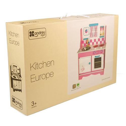 Cocina Europa de madera detalle 2