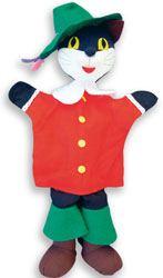 Marioneta Gato con Botas