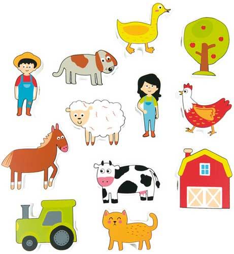 Lacing Farm 12 piezas para enlazar detalle 3