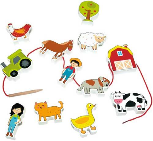 Lacing Farm 12 piezas para enlazar detalle 2
