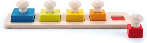 Square puzzle con pivotes