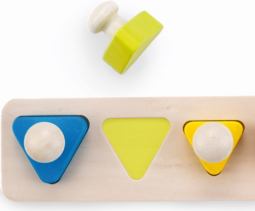 Triangle Puzzle con pivote detalle 2