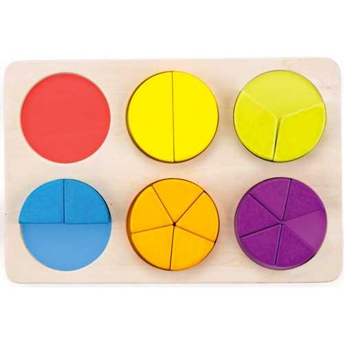 Puzzle de fracciones detalle 4