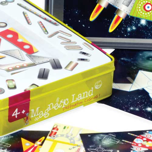 Juego magnético Destination Cosmos detalle