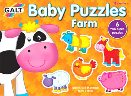 Puzzles Baby Granja